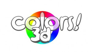 The Colors 3D logo