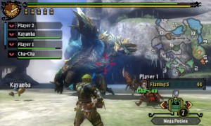 MH3 is perfect for impatient gamers who can't be doing with loading times, such as Lewis...