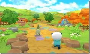 You get to build your own Pokémon Paradise!