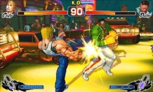 Street Fighter 4 3D includes all the characters from its console counterpart