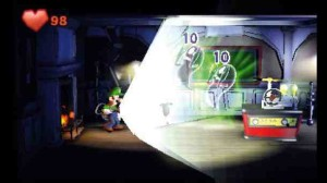 Battle is mercifully uncomplicated in the Luigi's Mansion universe...