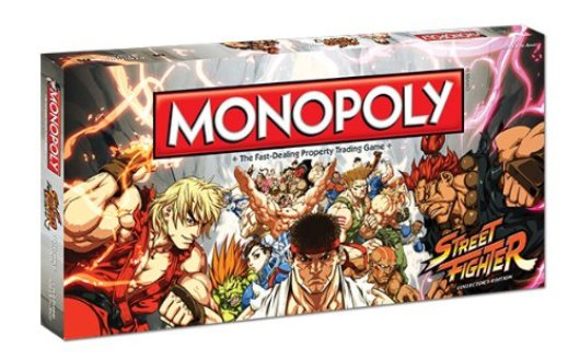 Street Fighter:Monopoly
