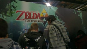 The latest 3DS Zelda title was among those games Whistler got to try at Play Expo...