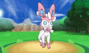 Sylveon is the latest Eevee evolution, introducing Fairy-type into the mix