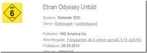 USK Etrian Odyssey
