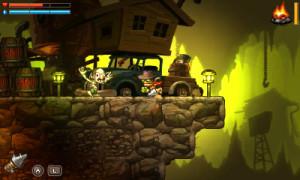 SteamWorld Dig is described by its developer Image&Form as a 'hardcore platform mining adventure game'.
