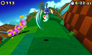 Whistler rated the 3DS version of Sonic Lost World over the Wii U incarnation...