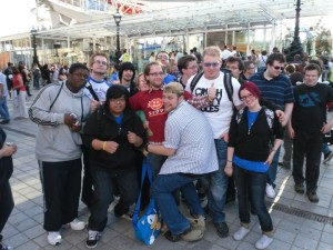 Hijinks : group photo from a previous SonicLondon meet...