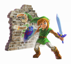 Link must make use of his new wall-merge ability to progress through this new adventure...