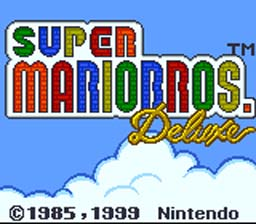 Super Mario Bros DX brings the original Super Mario Bros to a whole new audience... for a second time!