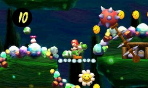 Cute. But the Yoshi's New Island visuals lack the charms of the original.