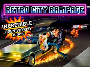 The Retro City Rampage logo and artwork