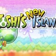 The Yoshi's New Island logo