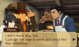 Layton and Wright's get-together has some humorous consequences...