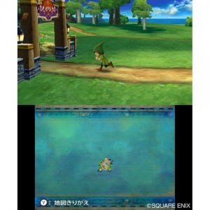 The 3DS port of this classic title has some interesting uses of the touchscreen...