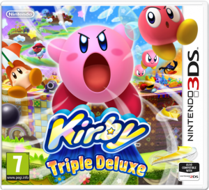 kirby 3ds boxart