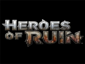The Heroes of Ruin logo.