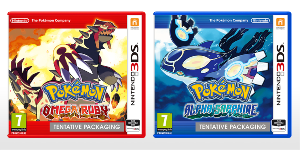 pokemon ruby sapphire 3DS
