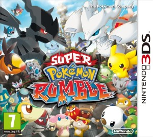 The Super Pokémon Rumble box-art