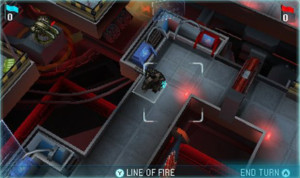 Although combat is grid-based, the 3DS allows for dynamic camera angles