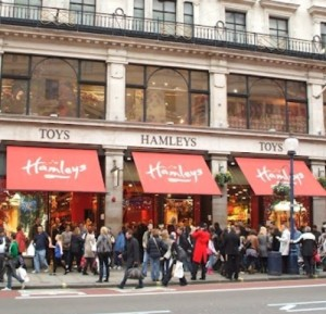 Hamleys is the oldest and largest toy shop in the world, and also happens to play host to it's own rather awesome branch of GAME!