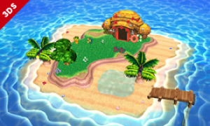 The Tropical Island from Animal Crossing : New Leaf's never looked better!