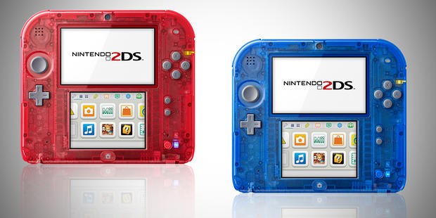 transparent 2DS