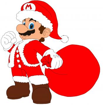 Christmas_Mario-350x359
