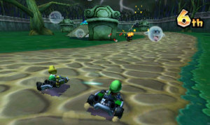 MK7's StreetPass function allows you to spread your seed about... in the form of racing ghosts!