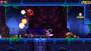 The new pirate weapons give Shantae new,  destructive attacks
