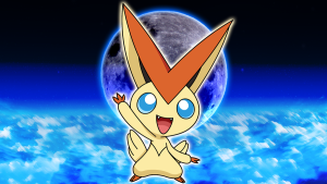 Victini's fairly rare these days...