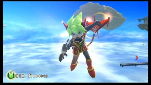 Rodea the Sky Soldier gives Cyburn happy memories of NiGHTS into Dreams (which we considered as a 3DS port here)