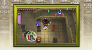 Work together with 2 friends to solve puzzles in the new Zelda Triforce Heroes