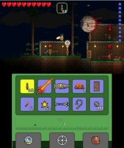 Terraria has an interesting control system...