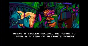 Screenshot from the DLC