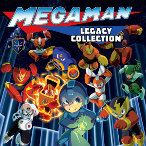 Megaman Legacy Collection Logo