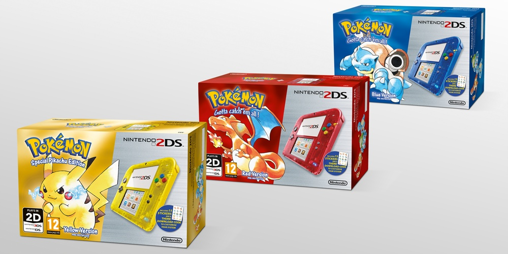 pokemon 2ds console