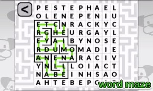 POWGI, 3DS, review, Word Puzzles, Lightwood Games, Wii U, 2015, iOS, crossword, puzzle, DS, Mixups, One Word, Flowers, Circles, Crossovers, 480 puzzles, Word Maze, amiibo, figures, cards, celebrities, NFC, 3D, 2D, shapes, colours, quotes