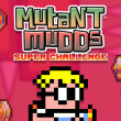 The 'Mutant Mudds Super Challenge' logo